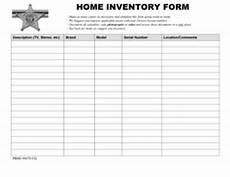 Home Inventory Insurance 19 Printable Home Inventory Checklist Forms And Templates