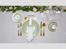 How to Set a Dinner Table   Architectural Digest