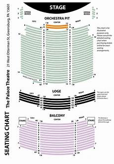 Palace Theatre New York City Seating Chart Seating Chart The Palace Theatre