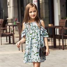 clothes summer summer toddler dress teenagers dress shoulder