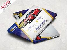 Automobile Download Freebie Car Dealer Business Card Template Free Psd By