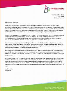 Microsoft Word Formal Letter Template 6 Microsoft Word Business Letter Template