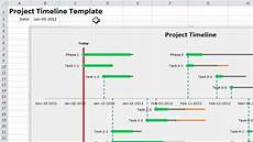 How To Create A Timeline In Excel Excel Project Timeline 10 Simple Steps To Make Your Own