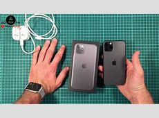 iPhone 11 PRO 256GB Space Gray UNBOXING and Setup (from