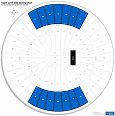 Frank Erwin Center Seating Chart Seat Numbers Frank Erwin Center Seating For Concerts Rateyourseats Com