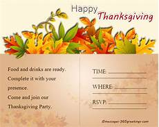 Thanksgiving Party Invitations Thanksgiving Invitations 365greetings Com