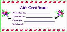 Make Gift Certificates Online Free 28 Cool Printable Gift Certificates Kitty Baby Love