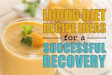 liquid diet recipe ideas dr steven fass