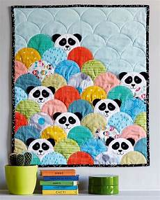 patchwork motif from of quilting and patchwork magazine panda quilt
