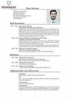 Most Recent Resume Format How To Make Your Resume Look Good