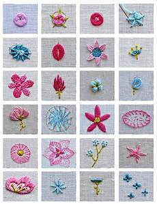 flower embroidery tutorial stitch book botanical
