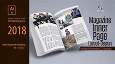 Magazines Layout Ideas Magazine Layout Design In Illustrator Cc I Sketch Station