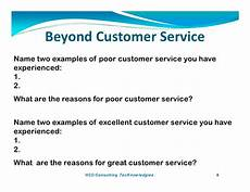 Excellent Customer Service Examples Beyond Customer Service By Paul Kostreski