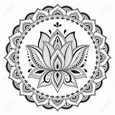 lotus mandala dessin fleur de lotus