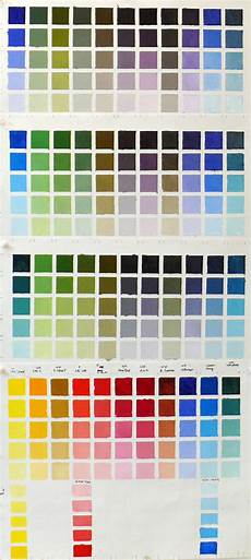 Mab Paint Color Chart Infinite Color Amp Joy Charting My Palette Bouc Artist