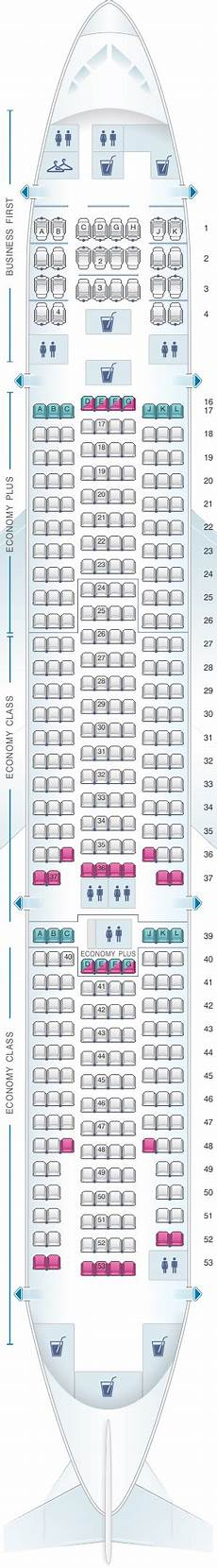 United Airlines Seating Chart 777 International Boeing 777 200 Seat Map United Airlines Bruin Blog