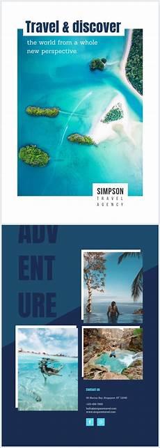 Travel Brochure Cover Design Travel Brochure Cover Template Flipsnack