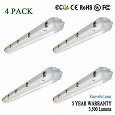 4 Ft Light Led 4 Ft Shoplight Garage Ceiling Light Fixture 3500 Lumens