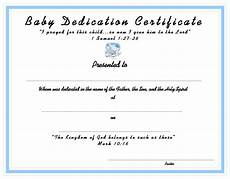 Baby Presentation Certificates Www Certificatetemplate Org Baby Dedication Certificate