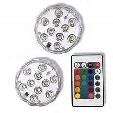 Battery Operated Led Lights With Remote Submersible Underwater Led Lights Battery Operated Rgb