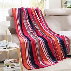 knitted blanket high quality 135 180 cm cotton knitted