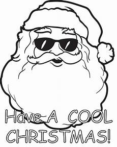 free printable santa claus coloring page for 11