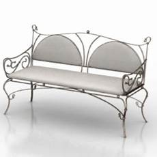 Steel Sofa 3d Image by Antique Metal Sofa 3d Max Model Free 3ds Max Free