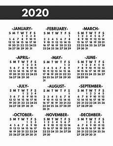 at a glance calendar 2020 2020 printable one page year at a glance calendar paper