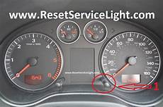Audi A3 Oil Light Reset Reset Service Light Indicator Audi A3 Reset Service