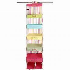 clothes organizer days of the week days of the week closet organizer stripe in