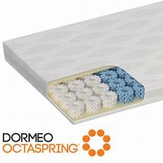 octaspring zone memory foam mattress topper single