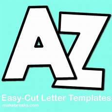 Letters Template Free Free Alphabet Letter Templates To Print And Cut Out Make