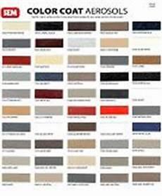 Sem Trim Paint Color Chart Auto Cosmetics Mobile Tech Products Color Charts