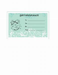 Ms Word Gift Certificate Template Free Blank Certificate Templates For Microsoft Word Kindtie
