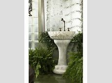 Pedestal Sinks Product Review   Roman Baths From Maitland Smith   Ebricks.com