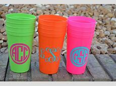 Personalized Cups Plastic Tumblers Bachelorette Weekend