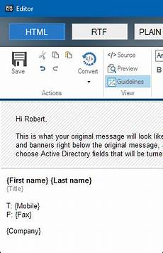 Professional Email Signature Formats Best Format For Email Signatures
