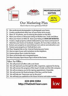 Real Estate Listing Marketing Plan The Drefs Team Marketing Plan