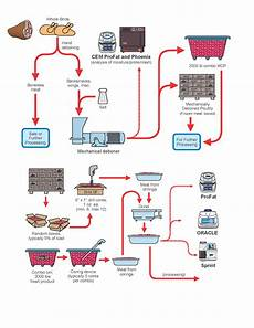 Meat Processing Chart Meat Product Production Process