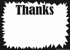 thank you card template and black printable starburst template cliparts co