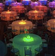 Under Table Led Lights Under Table Uplighting Weddings Do It Yourself Style