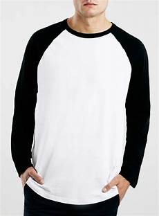 black sleeve shirt white black contrast raglan sleeve t shirt blingby