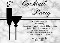 Cocktail Party Invitation Cocktail Party Invitation Unique Custom Created New
