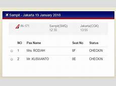 Cara Check In Online NAM Air (Panduan Lengkap)   Kusnendar