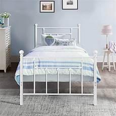 vecelo classic style bed frame metal platform mattress