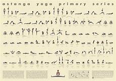Yoga Primary Series Chart Amazon Com 112 Posture Yoga Chart Ashtanga Primary