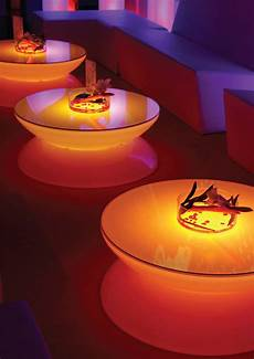 Led Party Table Lights Translucent Led Light Tables Lounge From Moree Digsdigs
