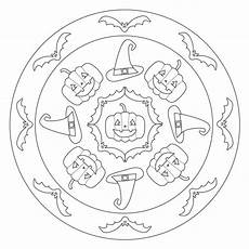 halloween mandala coloring pages free halloween mandala coloring pages 171 funnycrafts