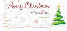 Editable Gift Certificate Template Christmas Gift Certificate Templates For Word Editable