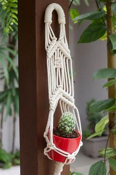 plant hanger suporte suspenso para vaso em macram 234 mini